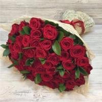 Букет из 45 красной розы