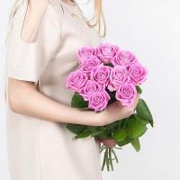 Букет из 11 розовых роз (70 см)