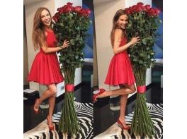 Высокие розы 180 см 25 шт