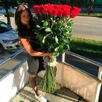 Высокие розы 160 см 51 шт