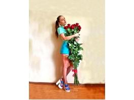 Высокие розы 160 см 25 шт