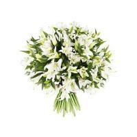 Букет 51 лилия белая