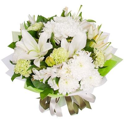Букет хризантем «Доброе утро»