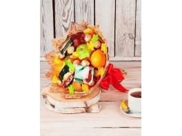 Букет из фруктов и конфет №21