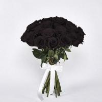 35 черных роз
