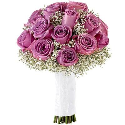 Букет из фиолетовых роз №172