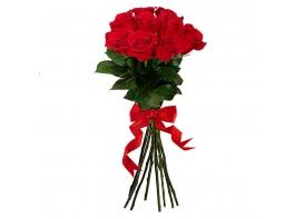 Букет из 9 красных роз Эквадор (70см)