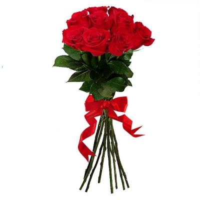 Букет из 9 роз Эквадор (70см)