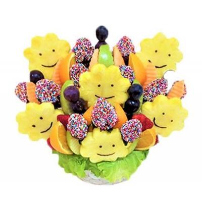 Букет из фруктов и клубники №6