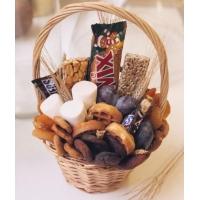 Сладкий букет из зефира и шоколада №11